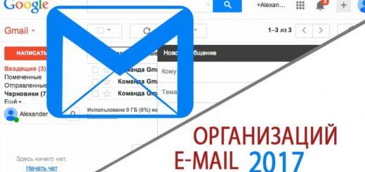 Почтовые ящики - Email Организаций 2017